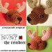 Rory the Reindeer Ornament pattern