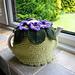 Devon Violets pattern
