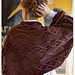 Cabled Shrug pattern