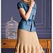 Herringbone Skirt pattern