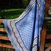 Shetland Hap pattern