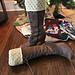 Beekeeper Boot Cuffs pattern