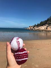 Cricket Ball and Baseball Knitting Pattern: Standard