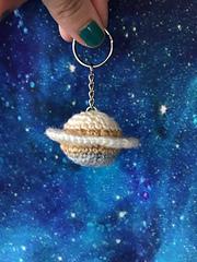 My Little Pocket Planet / Crochet Saturn Pattern by Ruth Haydock