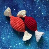 Cosmic Sweetie, Crocheted Sweetie Pattern by Ruth Haydock