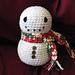 Snuggly Snowman pattern