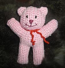 Crochet Teddy Bear Written Pattern and Video | 240x227