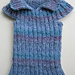Roundabout worsted ribbed child's top pattern