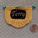 Elegant Name Badge pattern