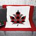 O Canada lapghan pattern