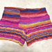 YS-550 kureyon sock yarn short pants pattern