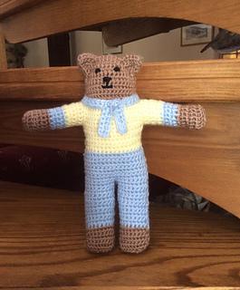 How To Make A Cute Small Crocheted Teddy Bear - DIY Crafts ... | 320x265