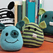 Monster Bookends pattern