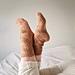 Caramel kiss socks pattern