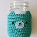 Mason Jar Bear Cosy pattern