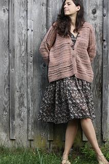 Ravelry: Ostra Cardigan pattern by Amy Christoffers