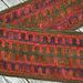 Zipper scarf pattern