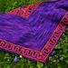 Lotus Flower Shawlette pattern
