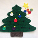 Christmas Tree Pillow and Playmat pattern