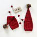 Småflettenisselue / Mock cable stocking hat pattern