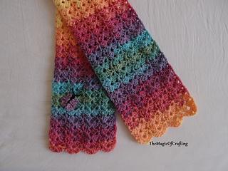Crochet A Toddler Scarf