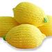 Lemon Stress Ball (Knit) pattern
