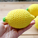 Lemon Stress Ball (Crochet) pattern
