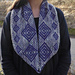 Studded Diamonds Cowl pattern