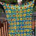Funky Sunflower Blanket pattern