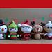 Christmas Big Heads Figures pattern