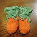 Pumpkin Booties pattern