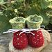Strawberry Booties pattern