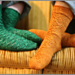 Diamond Tread Socks pattern