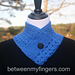 1-1 Lace Edge Neck Warmer pattern