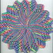 Sunburst Dishcloth pattern