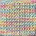 Brioche Twist dishcloth pattern