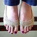 Sling Back Peep Socks (No Show) pattern