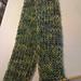 Menage a trois scarf pattern