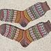 Fall Leaves Socks pattern