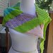 Mermaid Tail Shawl pattern