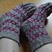 Elizabeth Kathrynn Socks pattern