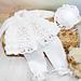 45- Candy Blush Baby Matinee Jacket pattern