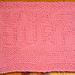 Burp Baby Cloth pattern