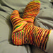 Ribby Holiday Socks pattern