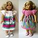 BUTTERFLY doll dress pattern