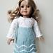 "Ice Princess 18"" doll dress pattern"