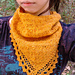 Beauty Berry scarf pattern