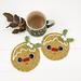 Gingerbread Man Coaster pattern