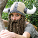 Bearded Viking Helmet pattern