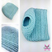 Simplicity Messy Bun Hat pattern